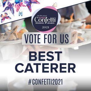 Confetti Vote For Us Best Caterer 2021