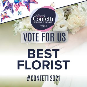 Confetti Vote For Us Best Florist 2021