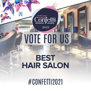 Confetti Vote For Us Best Hair Salon 2021