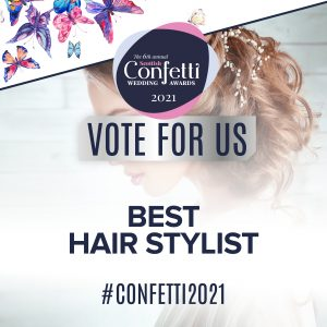 Confetti Vote For Us Best Hair Stylist 2021