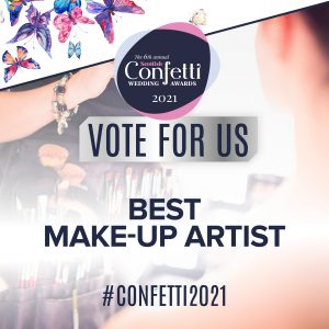 Confetti Vote For Us Best Make Up Artist 2021