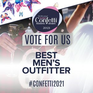 Confetti Vote For Us Best Mens Outfitter 2021