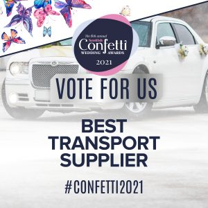 Confetti Vote For Us Best Transport Supplier 2021