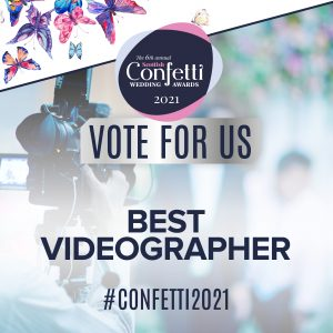 Confetti Vote For Us Best Videographer 2021