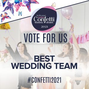 Confetti Vote For Us Best Weding Team 2021